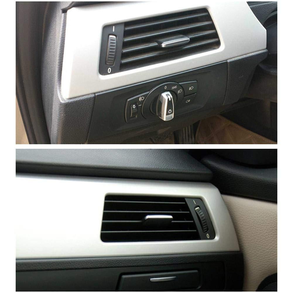 waterfaill WATERFAIL Auto-Front-A//C-Entl/üftungsauslassklammer-Reparatursatz Schwarz F/ür BMW 3er E90 E91 E92 E93 2005-2011 318i 320i 325i 330i 335i Auto-Zubeh/ör