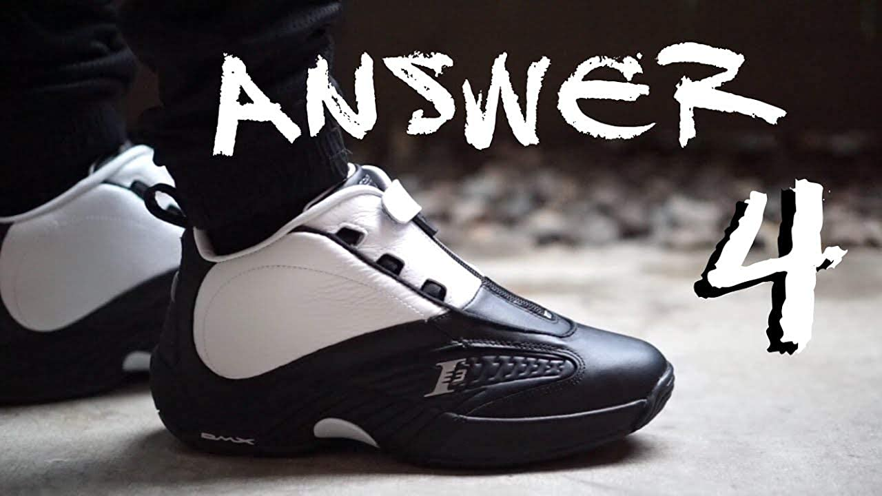 5f48be0643f Reebok The Answer IV Stepover Allen Iverson 4 Basketball Schuhe Sneaker  V55619 Limited Edition UK 8.5