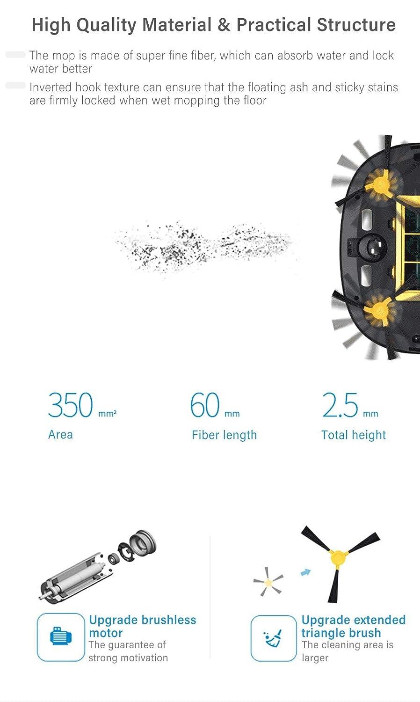 Amazon.com - CARWORD 1200Pa Robot Vacuum Cleaner Intelligent ...