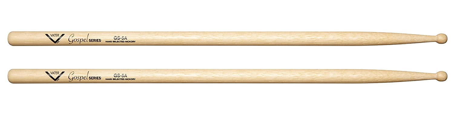 Vater Percussion Gospel 5A Wood Tip Vater Drumsticks VGS5AW