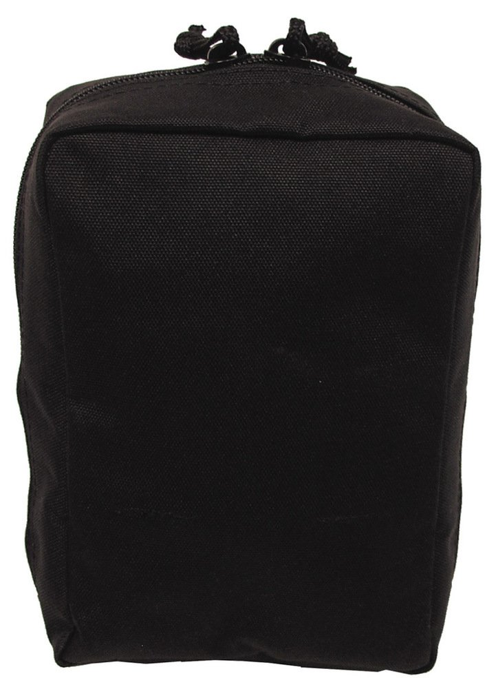 MFH SMALL UTILITY MOLLE POUCH MEDICS POUCH BLACK