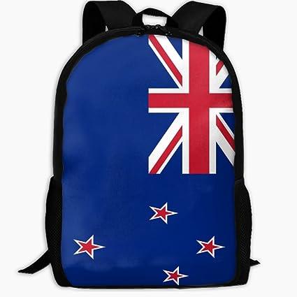Amazon Com Children S School Backpack Flag Of New Zealand Outdoor