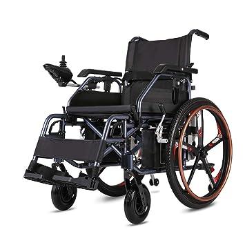 Huiiv Sillas de Ruedas eléctricas Plegables para sillas de ...