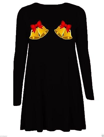 Brezza Damen Schlag Kleid mehrfarbig mehrfarbig One size Gr. S/M (34-