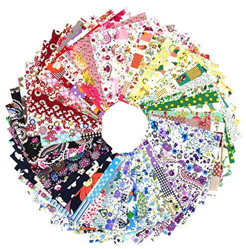 discount raylinedo 50x different pattern patchwork 100