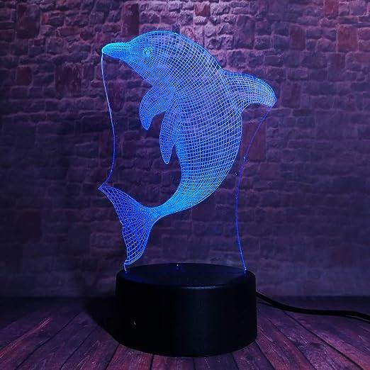wangZJ Cute Dolphin 7 colores oscurecimiento dormitorio ...
