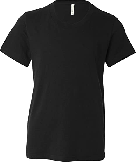 b5ef144d Amazon.com: Bella + Canvas Boys Youth Jersey Short-Sleeve T-Shirt ...