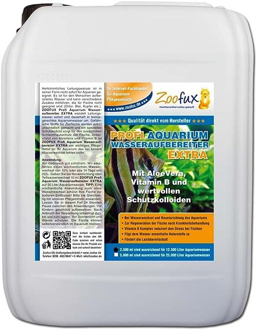 zoofux profesional Acuario de purificador de agua extra 2500 ml: Amazon.es: Productos para mascotas