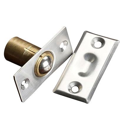 16mm or 19mm Mortice Roller Ball Bales Catch cupboard door catch