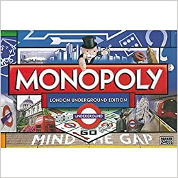 Winning Moves Monopoly London Underground Amazon Fr