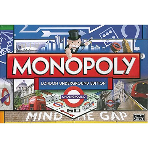 Winning Moves Games London Underground Monopoly Board -
