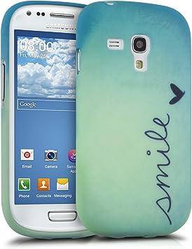 kwmobile Funda para Samsung Galaxy S3 Mini: Amazon.es: Electrónica
