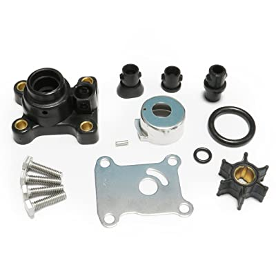 Full Power Plus Impeller Kit for Johnson Evinrude 8-15HP Outboard with Housing 1974-UP 18-3327,394711: Sports & Outdoors