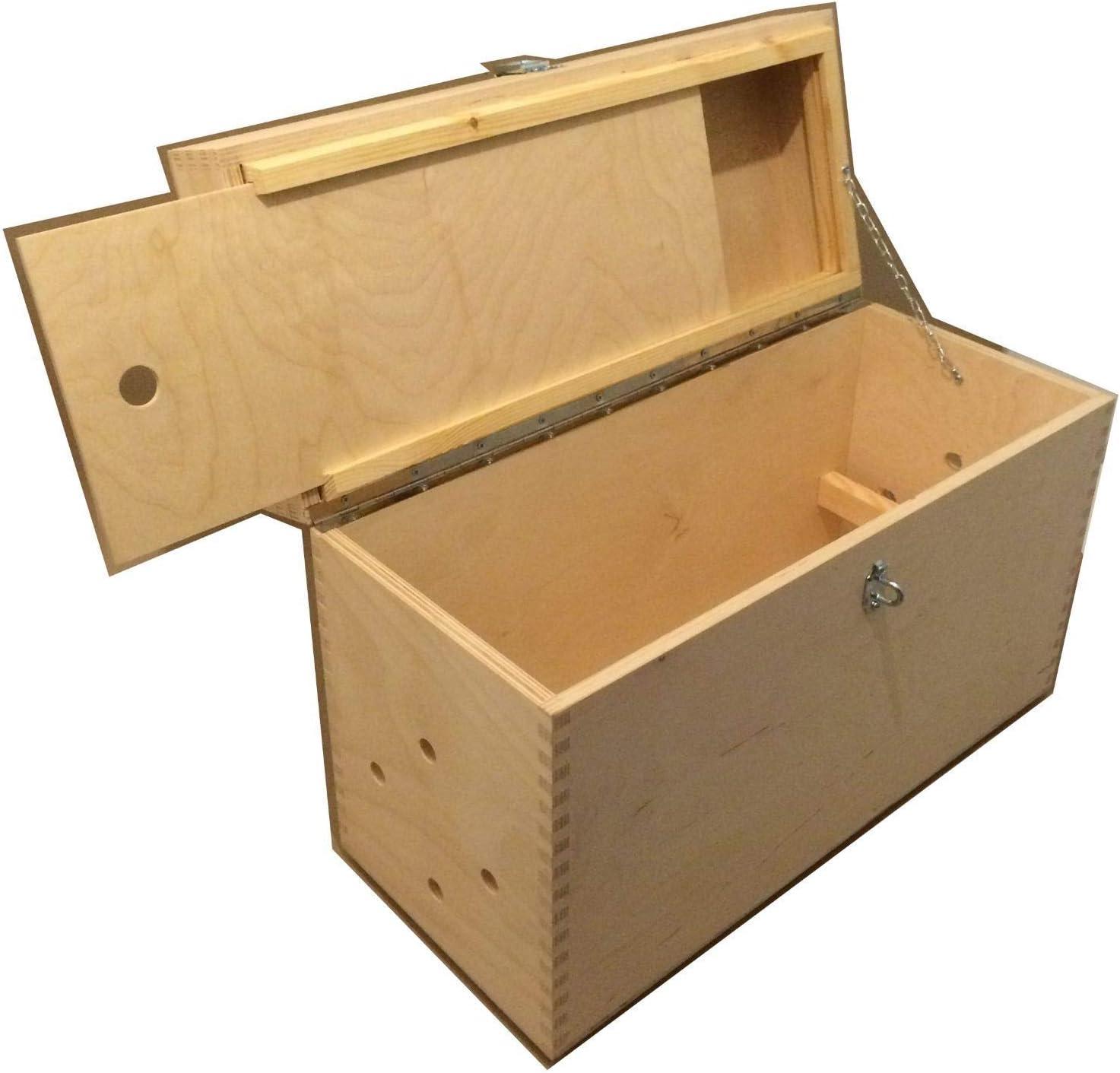 PROFI Maler Werkzeugkoffer Tapezierkoffer Holzkoffer Holz Koffer 65x40x18 cm