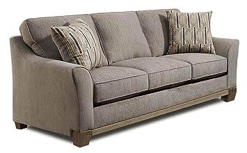 Amazon.com: Chelsea Home Sofa in Artifact Pewter: Kitchen ...