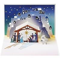 Bergers Nativité et Rois–Amazing Carte pop-up