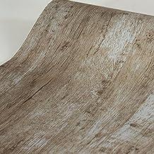 SimpleLife4U Modern Wood Grain Contact Paper Self-Adhesive Shelf Liner Dresser Drawer Sticker 17.7 Inch by 9.8 Feet
