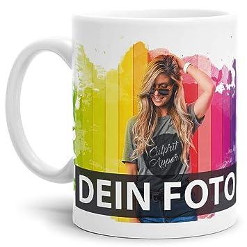 2 Stück Individuelle Fototassen Motivtasse eigenes Motiv Fotobecher Kaffeebecher