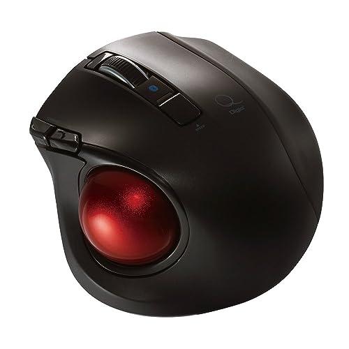 サンワサプライのハンドトラックボールマウスは、親指で操作を行う机いらずのトラックボールマウス。超小型なので、移動中の使用やプレゼンでの使用に最適だ。  指輪のように指にはめて使用するため、そのままキーボードの操作ができるのもポイント。