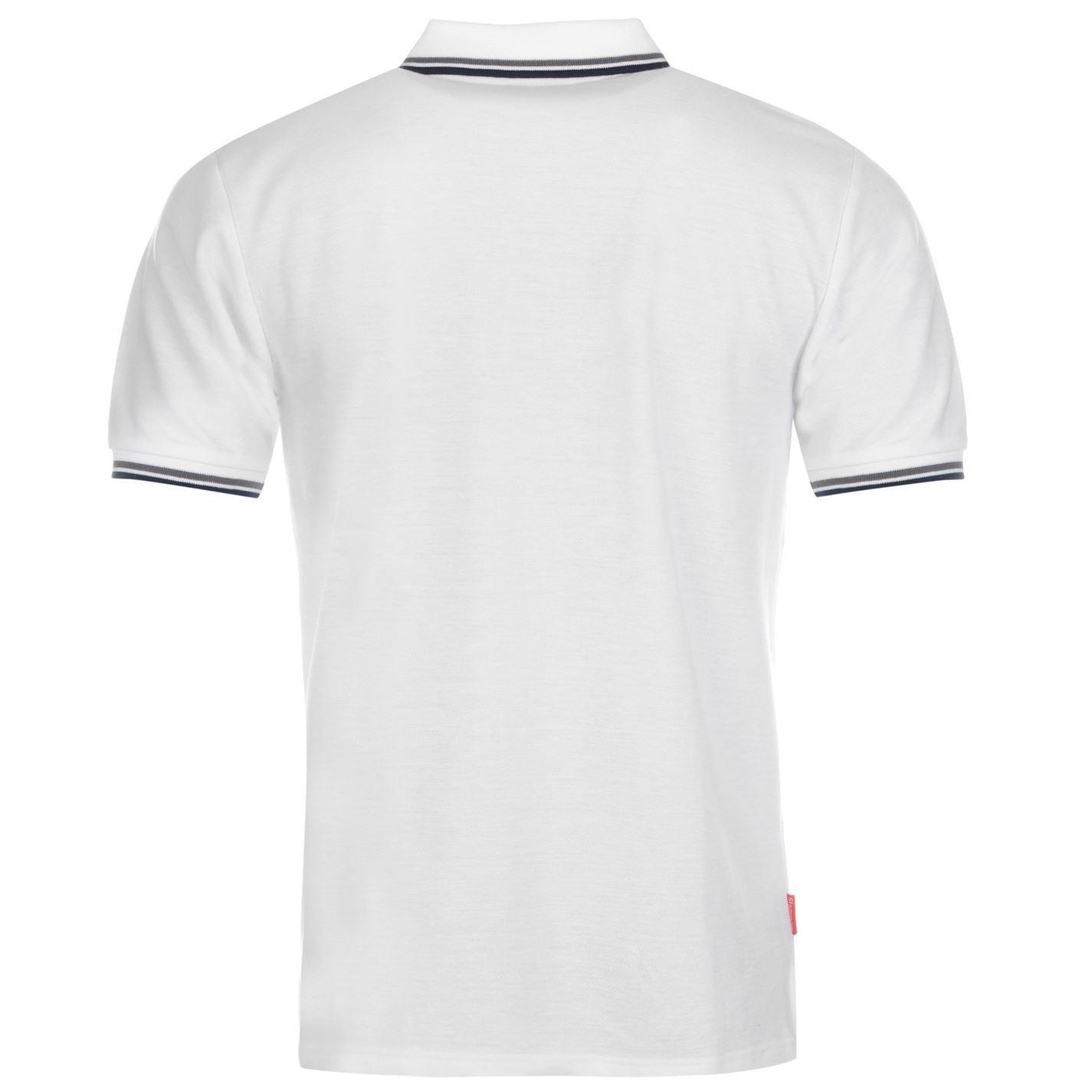 Slazenger Polo pour homme avec pointe Dessus blanc T-shirt Tee XXL blanc Io3NewzA