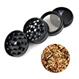 ACVCY Zinc Weed Grinder with Pollen Catcher For