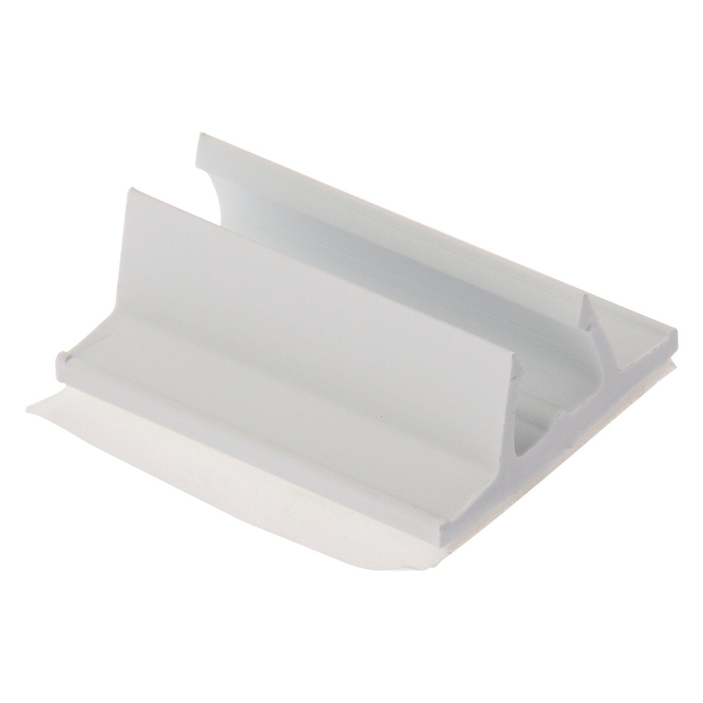 Panduit AMC25-AT-C10 Cord Clip, Adhesive Backed, PVC, White.22 - .28-Inch Bundle (100-Pack)