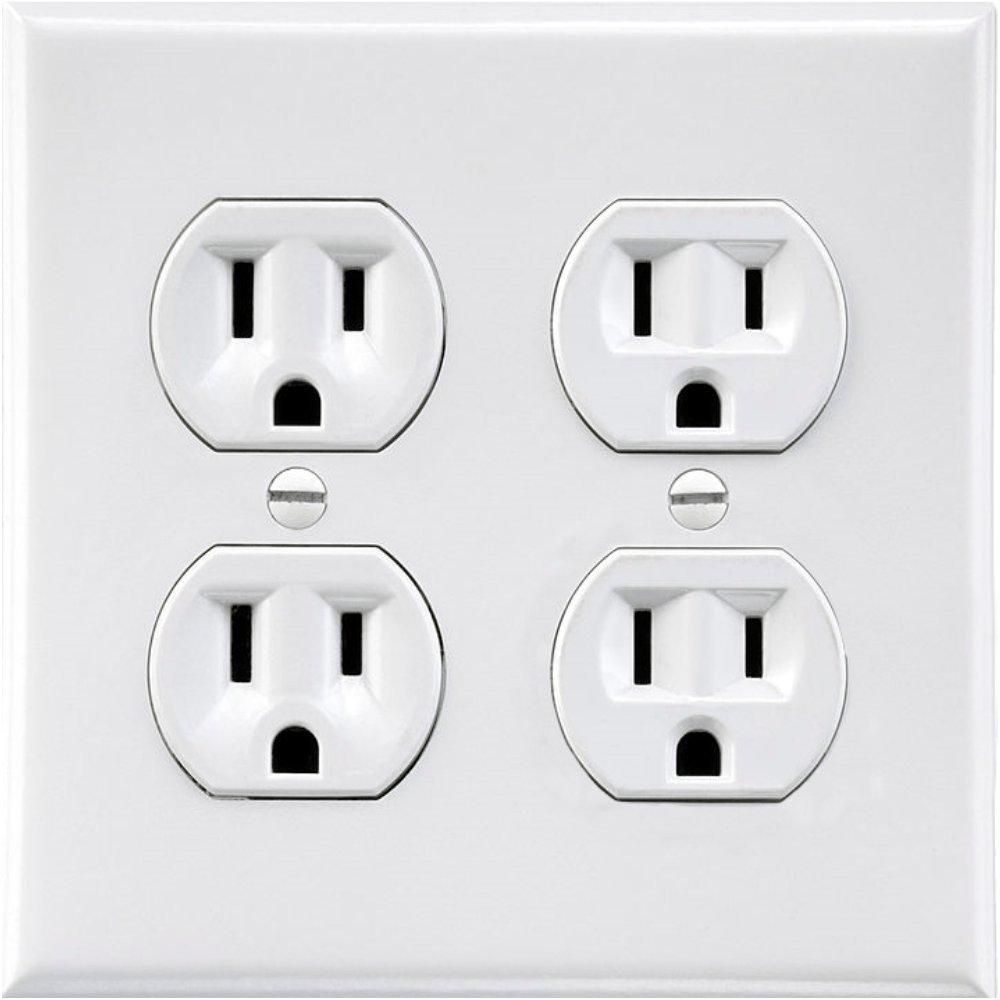 Electrical Sticker Fake Wall Outlet Gfci Problem Encountered Diy Chatroom Home Improvement Plug Kitchen