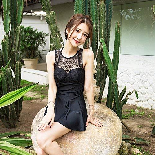 Summer Skirt Chest Qiusa Split Mostrato Unica Come L Mostrato The Yarn Insieme Dimensione Small Swimwear colore Raccogliere Taglia Sexy Style Black Net Series IqqfE