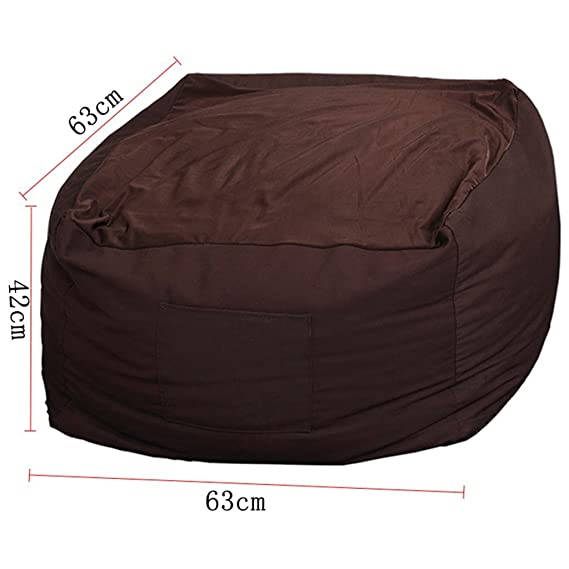 Amazon.com: Bean Bags Lounger Sofa Cloth Single Cloth Bags ...
