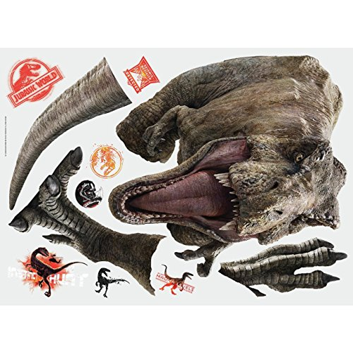 RoomMates Jurassic World: Fallen Kingdom T-Rex Giant Peel and Stick Wall Decals by RoomMates (Image #1)
