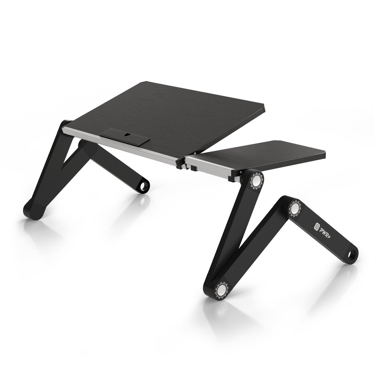 pwr flextop portable laptop table desk folding fully