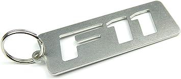 Disagree Schlüsselanhänger F11 Hochwertiger Edelstahl Auto