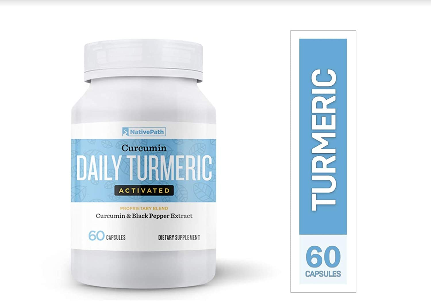 NativePath Daily Turmeric Activated Curcumin Black Pepper Extract, Anti-Inflammatory Capsules, Provides Joint Relief and Supports Your Immune System, Mood, Memory 2