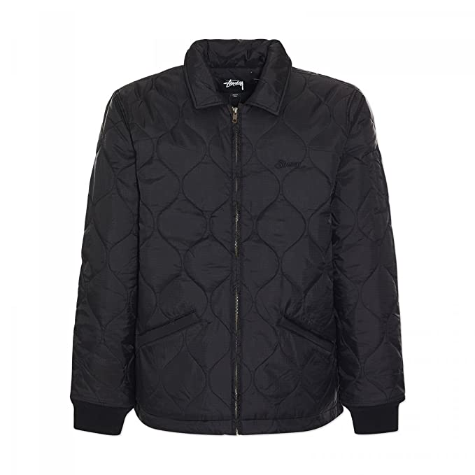 Abbigliamento WORK NERO JACKET QUILTED STUSSY Amazon it B7wHvqvC