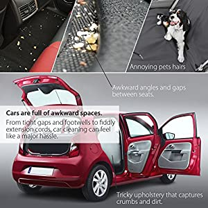 Corux Car Vacuum Cleaner 150W High Power Handheld Dust Collector 3500Pa Strong Suction Patented ProCyclone System & 3rd Generation Filter for 12V Vehicles