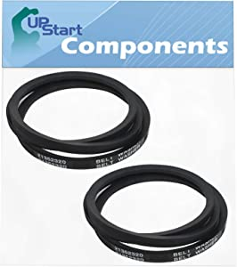 2-Pack WP21352320 Washing Machine Drive Belt Replacement for Admiral AAV7000AWW - Compatible with 35-3662 Washing Machine Belt