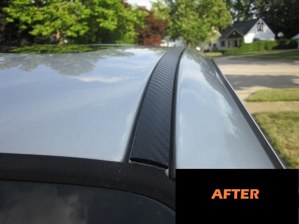 2003-2009 MERCEDES BENZ E320 E 320 CARBON FIBER ROOF TRIM MOLDINGS 2PC 2004 2005 2006 2007 2008 03 04 05 06 07 08 09 MERCEDES-BENZ W211