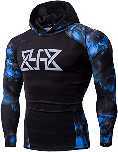 Fxbar,Mens Fashion Long Sleeve Sweatshirts Hoodies Full-Zip Athletic-Fit Cardigan Tops Tracksuits