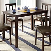 CorLiving Rectangular DKR-599-T Dining Table in Dark Cocoa