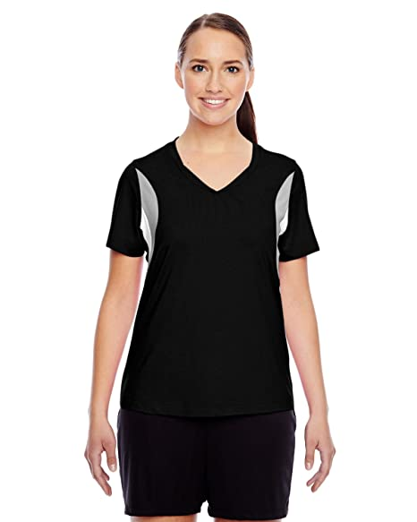 6c407f4c37 Team 365 Ladies Short-Sleeve V-Neck All Sport Jersey (TT10W) at ...