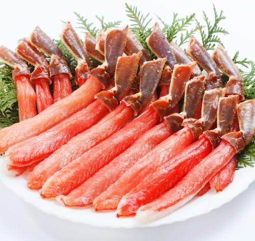 札幌蟹販 5L 生冷ズワイガニ棒肉 500g (15~20本入・加熱用)