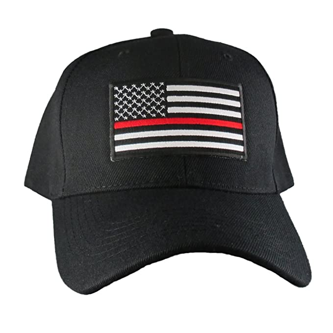 4dbe46df0fd71 Image Unavailable. Image not available for. Color  AffinityAddOns Thin Red  Line USA Hat