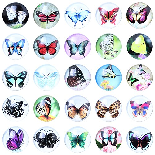 Soleebee Aluminum Butterfly Buttons Jewelry