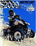 2258-363 2009 Arctic Cat 250 Utility 300 DVX Service Manual