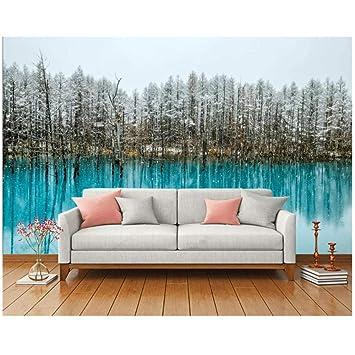 Papel pintado mural-Estilo moderno pintado-pintura de paisajes ...