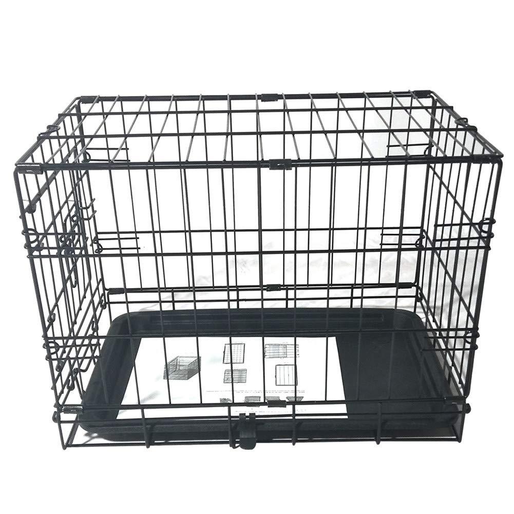 20'' Nuben Pet Kennel Cat Dog Folding Steel Crate Animal Playpen Wire Metal
