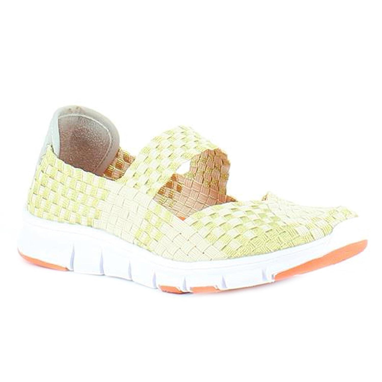 Heavenly FeetHeavenly Feet Lollipop Gold Beige Shoes - Botines Mujer, Color Dorado, Talla 42: Amazon.es: Zapatos y complementos