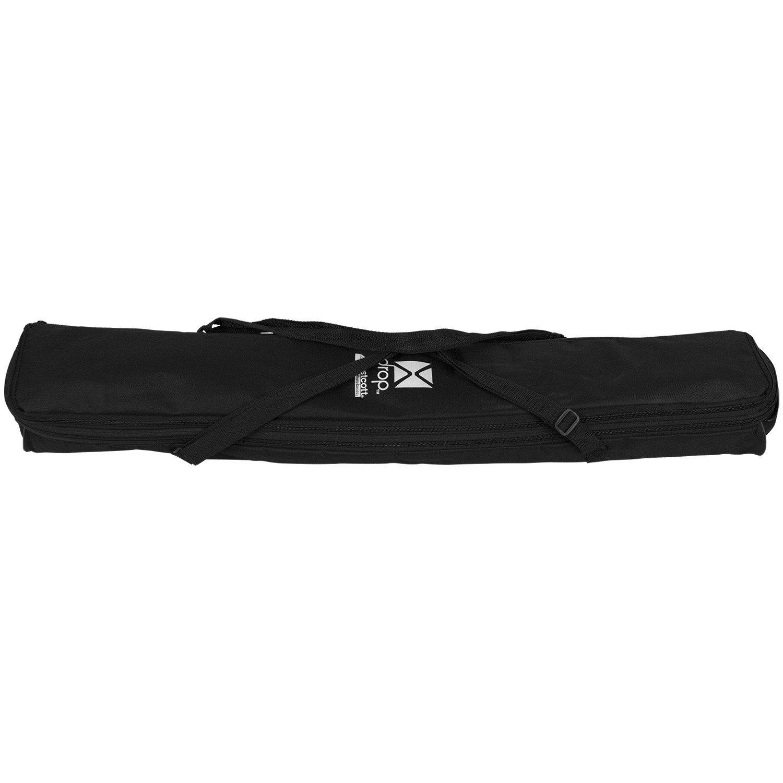 Westcott 578K X-Drop Kit with 5 x 7 Feet Black Backdrop - Black by Westcott