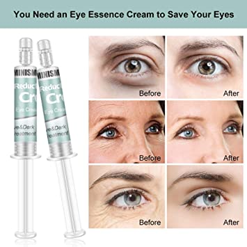 Amazon Com Rapid Reduction Eye Cream Under Eye Bags Treatment