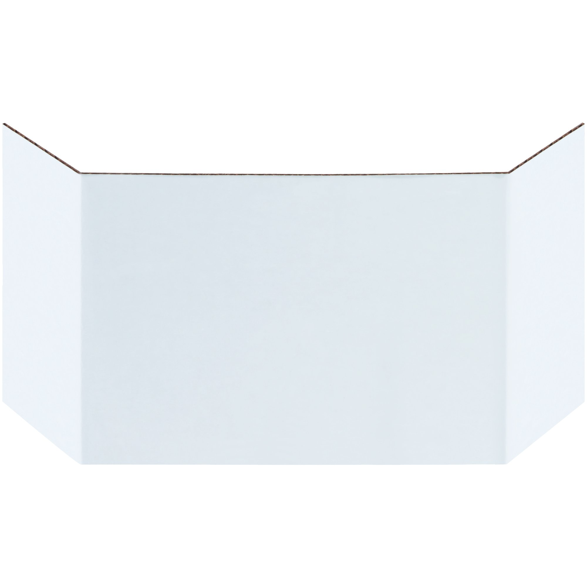 BOX USA BBIND6 Corrugated Bin Dividers, 6'', Oyster White (Pack of 100) by BOX USA